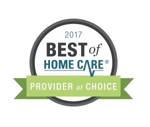 Senior Care Denton Provider of Choice 2017