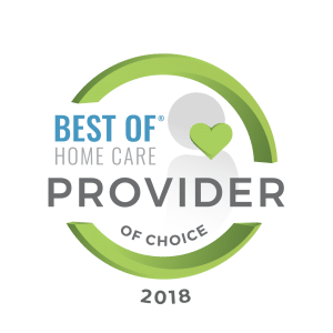 Senior Care Denton Provider of Choice 2018